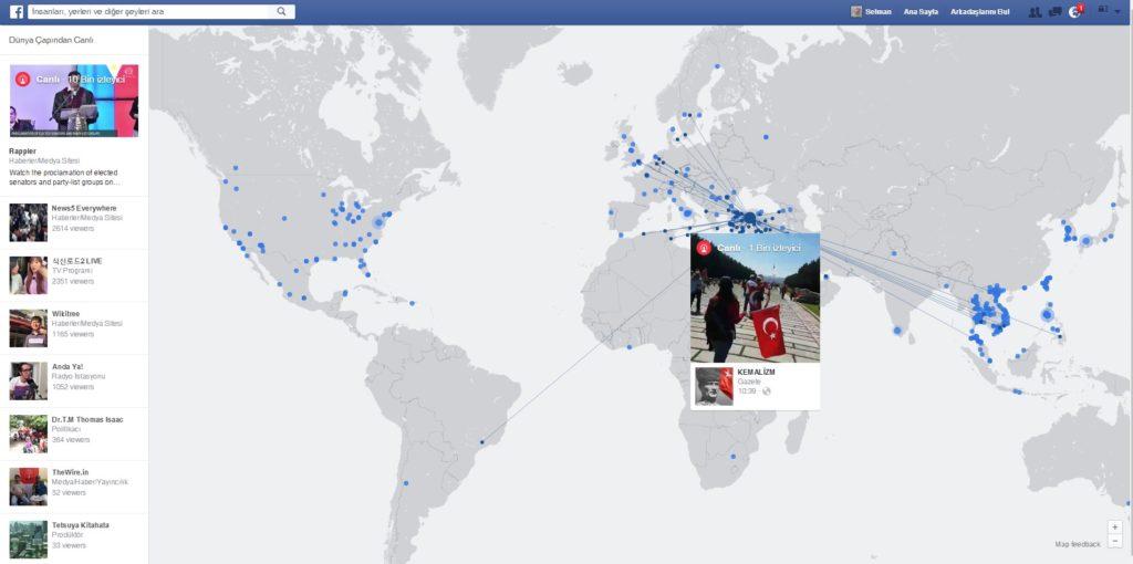 facebook livemap