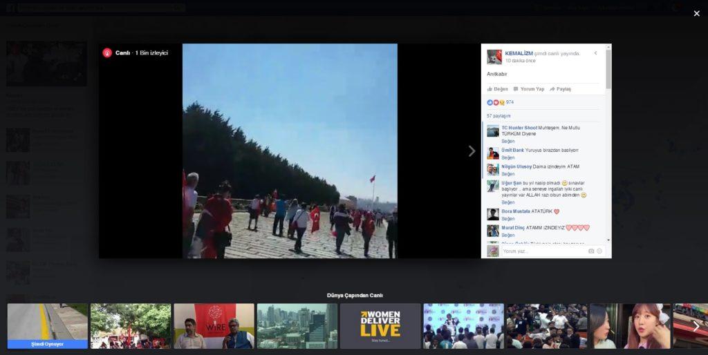 facebook livemap 19 mayıs zafer bayramı anıtkabir