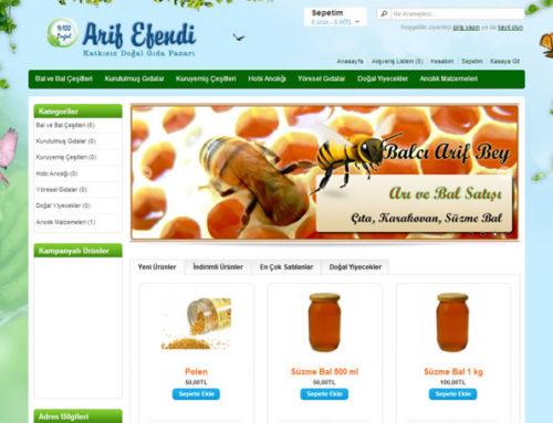 Arif Efendi Ltd. Şti.