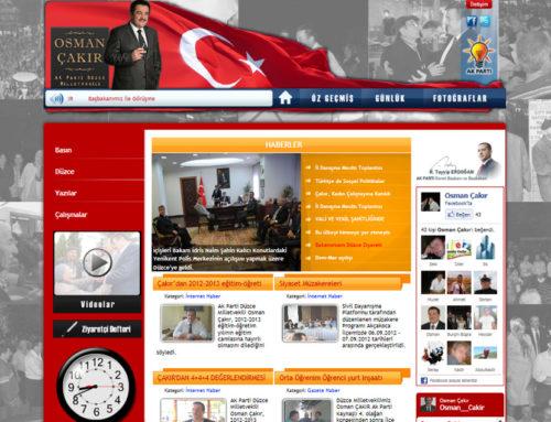 Ak Parti Düzce Milletvekili Osman ÇAKIR
